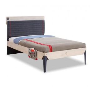 Trio Line Cilek łóżko tapicerowany zagłówek 120x200 cm
