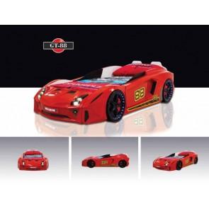 Łóżko auto GT88- kolor czerwony