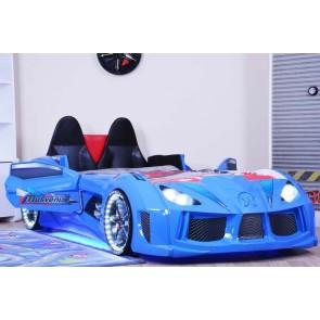 łóżko Gt Race niebieski