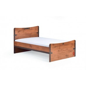 Black Pirate pojedyncze XL łóżko 120cmx200cm