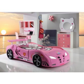 Grand Extreme łóżko samochód różowe standard