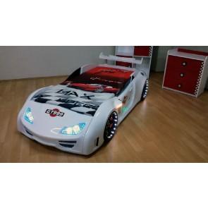 GT999 łóżko samochód biały - Nowość 2014
