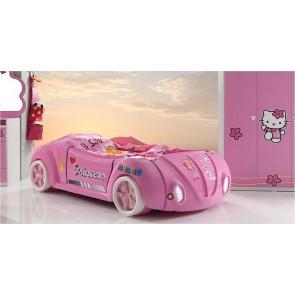 Łóżko samochód dla dziewczynki Grand Beetle