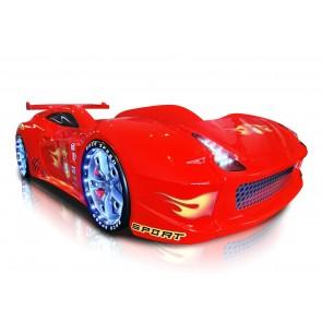 Grand Speed łóżko samochód czerwone full