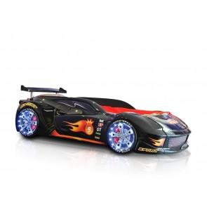 Grand Speed łóżko samochód czarne  full