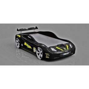 Łóżko samochód czarne standard Viper