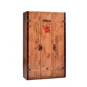 Black Pirate 3 drzwiowa szafa