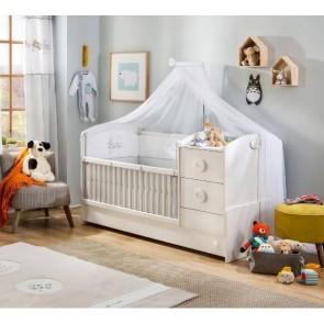 Baby cotton łóżeczko kompaktowe 75x 160 cm