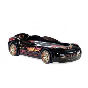 Biconcept biturbo łóżko samochód czarne 90cmx195cm