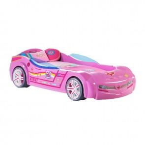 Biconcept biturbo łóżko samochód różowe 90cmx195cm