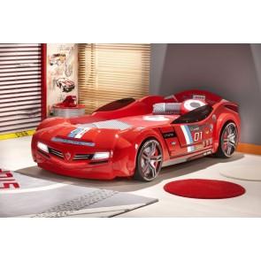 BiConcept łóżko samochód czerwone 90cmx195cm ( Bi Turbo)