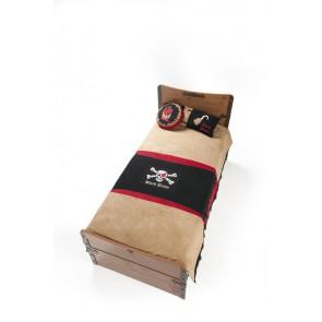 Black Pirate hook narzuta na łóżko