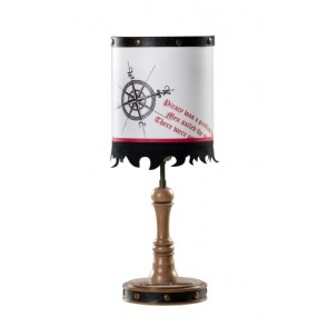 Black Pirate lampka nocna