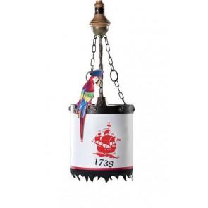 Black pirate lampa wisząca