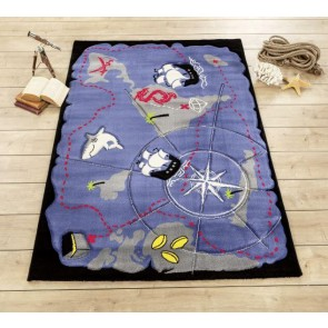 Cilek Black Pirate dywan 133x190cm