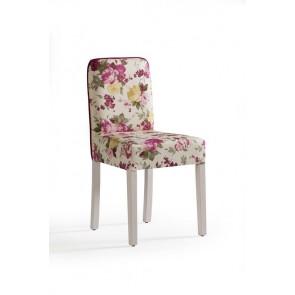 Flora krzesło różowe