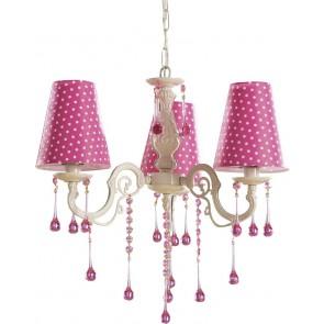 Dotty lampa wisząca różowa