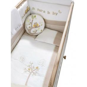 Natura Baby zestaw akcesorii do łóżeczka (125x60)