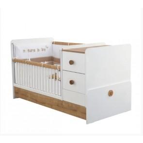 Natura Baby łóżeczko kompaktowe (75x160cm)