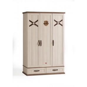 Royal 3 drzwiowa szafa