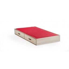 Royal pojedyncze łóżko wysuwane szuflada (90x190)