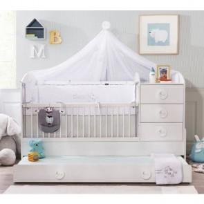 Baby cotton łóżeczko kompaktowe