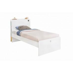 Łóżko młodzieżowe (120x200) White Cilek