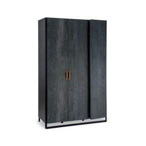 Szafa 3 drzwiowa Dark Metal