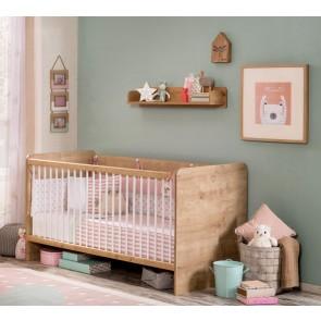 Łóżeczko niemowlęce Mocha 70 x 140 cm