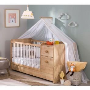 Mocha Baby łóżeczko kompaktowe (75 x 160