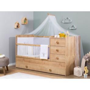 Mocha Baby łóżeczko kompaktowe (80 x 180)