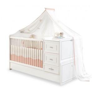 Romantica Baby łóżeczko kompaktowe (75x160cm)