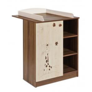 Mokko Moko -Komoda z półkami i zamykaną szafką
