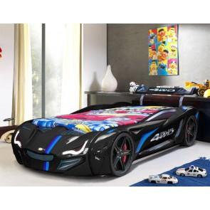 Łóżko auto GT Turbo - kolor czarny
