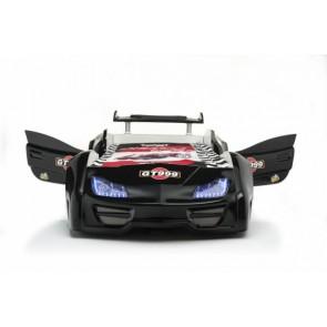 GT999 łóżko samochód czarny