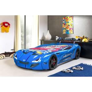 Łóżko auto GT Turbo - kolor niebieski
