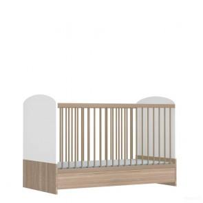 łóżeczko 70 x 140 cm  niemowlęce , bez motywu
