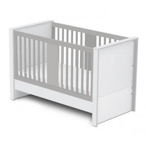 Łóżeczko dla niemowląt 140x70cm Moko Betty Szary