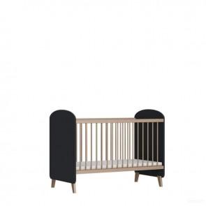 Łóżeczko niemowlęce 120x60cm Lena Antracyt