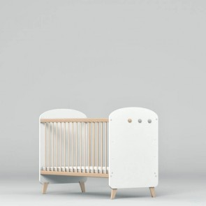 Łóżeczko niemowlęce 120x60cm Lena White