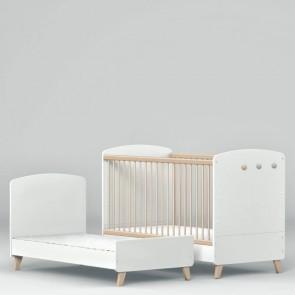Łóżeczko niemowlęce 140x70cm Lena White