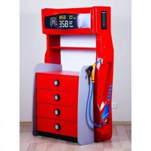 Komoda dystrybutor Sport kolor czerwony (