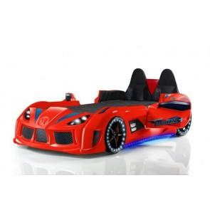 Łóżko auto GT Race czerwony