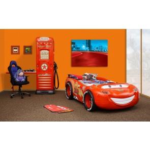 Disney McQueen Łóżko samochód ABS