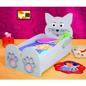 Łóżko dla dzieci Kot