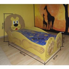 Łóżko dla dzieci Lew