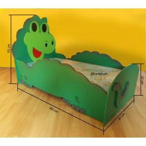 Łóżko dla dzieci Dino