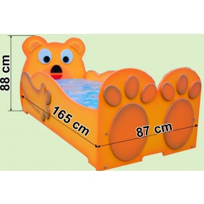 Łóżko dla dzieci Mały Miś