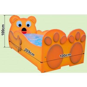 Łóżko dla dzieci Miś