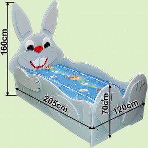 Łóżko dla dzieci Zając